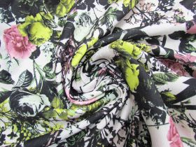 Great value Floral Printed Jacquard- 2m Remnant Piece CL1031 available to order online Australia