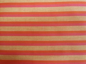 Great value Lanna Woven Cotton- Courage Shot Stripe available to order online Australia