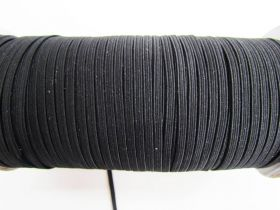 Great value 3mm Braided Elastic- Black #1005M available to order online Australia