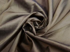Great value ONE OFF Silk Dupion- Brown-2.7m Remnant Piece CL1040 available to order online Australia