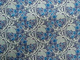 Great value Liberty Cotton- Dianthus Dreams- Blue- 0477549X- The Hesketh House Collection available to order online Australia