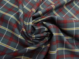 Great value Wool Blend Redwood Tartan Suitings #5780 available to order online Australia