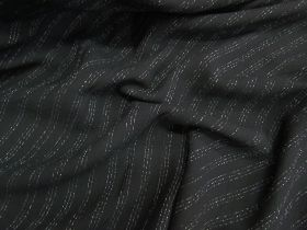 Great value Gangster Pinstripe Soft Crepe available to order online Australia