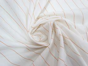 Great value Cotton Blend- Soda Stripe Orange #5803 available to order online Australia
