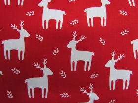 Great value Festive Reindeer Cotton #PW1098 available to order online Australia