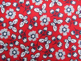 Great value Butterfly Garden Cotton- Red #PW1074 available to order online Australia