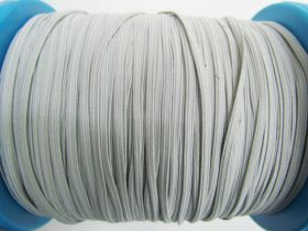 Great value 3mm Braided Elastic- Cool Grey #1017M available to order online Australia