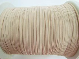 Great value 3mm Braided Elastic- Nude Peach #1026M available to order online Australia