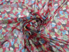 Great value Adorable Fans Silk Georgette #5854 available to order online Australia