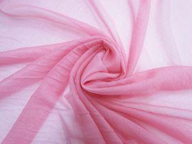 Great value Metallic Silk Chiffon- Flamingo Pink #5860 available to order online Australia