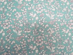 Great value Liberty Cotton- Fruit Silhouette- Blue- The Orchard Garden Collection available to order online Australia