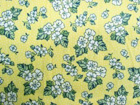Great value Summer Floral Cotton- Lemon #PW1062 available to order online Australia