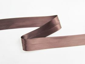 Great value 32mm Satin Bias Binding- Chocolate Sauce #697 available to order online Australia
