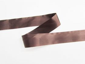 Great value 36mm Single Fold Satin Bias- Chocolate Sauce #697 available to order online Australia