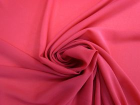 Great value Crepe Georgette- Pink Punch #4463 available to order online Australia