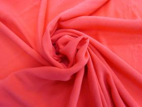 Great value Viscose Crepe- Pink Papaya #4466 available to order online Australia