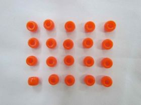 Great value Orange Beads- 20 for $1.50- RW136 available to order online Australia