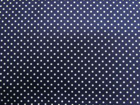 Great value Simple Tiny Spot Cotton- Navy #PW1015 available to order online Australia
