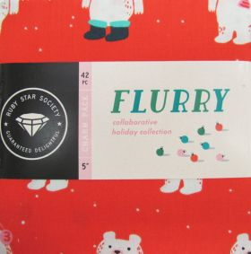 Great value Ruby Star Society- Flurry Charm Pack available to order online Australia