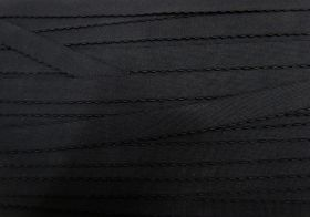 Great value 16mm Lingerie Elastic- Black #453 available to order online Australia