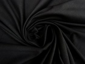 Great value Cotton Spandex- Matte Black #4490 available to order online Australia