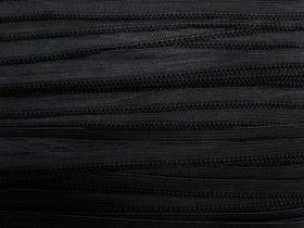 Great value 12mm Soft Lingerie Elastic- Black #465 available to order online Australia