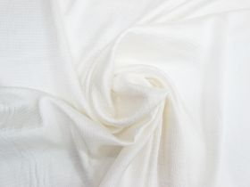 Great value Crinkle Stripe Satin Viscose- Pearl Cream #4510 available to order online Australia