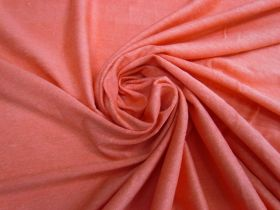 Great value Linen Jersey- Bright Coral #4527 available to order online Australia