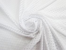 Great value Large Eyelet Knit- White #4529 available to order online Australia
