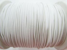 Great value 2mm Round Elastic- Cream White #471 available to order online Australia