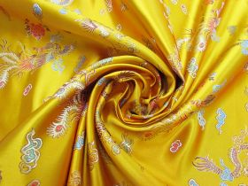 Great value Golden Dragon Satin Brocade #4587 available to order online Australia