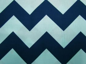 Great value Large Chevron- Navy/Aqua #23 available to order online Australia