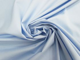 Great value Cotton Blend Ottoman Shirting- Light Blue #4612 available to order online Australia