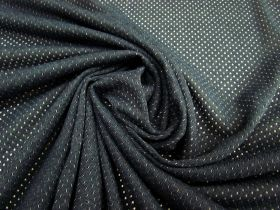 Great value Sports Eyelet Mesh- Charcoal Navy #2621 available to order online Australia