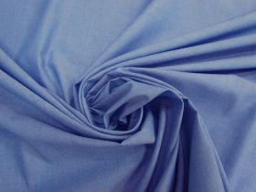 Great value Soft Cotton Blend Chambray- Cornflower Blue #4614 available to order online Australia