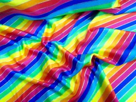 Great value Rainbow Foil Spot Spandex available to order online Australia