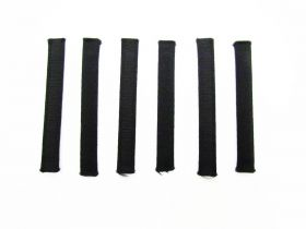 Great value Covered Plastic Boning Pieces- 8cm Black RW226-  6 for $4 available to order online Australia