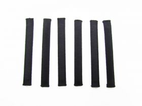 Great value Covered Plastic Boning Pieces- 8.5cm Black RW228-  6 for $4 available to order online Australia