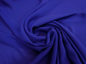 Great value Viscose Georgette- Sapphire Blue #4660 available to order online Australia