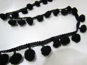 Great value Pom Poms- Black available to order online Australia