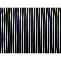 2mm White Stripe on Black
