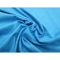 T-Shirt Cotton Jersey- Electron Blue