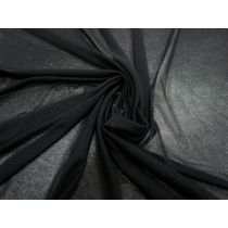 Stretch Mesh- Soft Black #1038