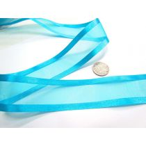Satin Edge Ribbon 38mm- Marine