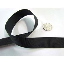 Grosgrain Ribbon 22mm- Black