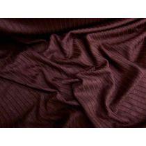 Chunky Rib Knit- Deep Burgundy