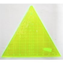 """Patchwork & Quilting Ruler- 8"""" Triangle- 60 degree"""