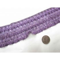 Fairground Weave Stretch Trim- Purple