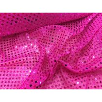 3mm American Sequins- Royal Blue on Pink