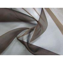 Silk Organza- Mocha Brown